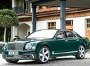 Фото авто Bentley Mulsanne 2 поколение [рестайлинг], ракурс: 45 цвет: зеленый