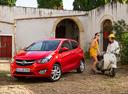 Фото авто Opel Karl 1 поколение, ракурс: 45 цвет: красный
