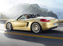 Фото авто Porsche Boxster 981, ракурс: 90 цвет: бежевый