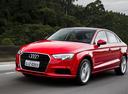 Фото авто Audi A3 8V [рестайлинг], ракурс: 45 цвет: красный