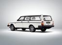 Фото авто Volvo 240 1 поколение, ракурс: 135 цвет: белый