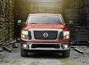 Фото авто Nissan Titan 2 поколение,  цвет: красный