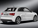 Фото авто Audi A1 8X, ракурс: 225 цвет: белый