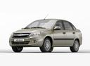 Фото авто ВАЗ (Lada) Granta 1 поколение, ракурс: 45 - рендер цвет: бежевый