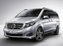 Фото авто Mercedes-Benz V-Класс W447, ракурс: 45 цвет: серебряный
