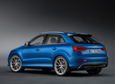 Фото авто Audi RS Q3 8U, ракурс: 135 цвет: голубой