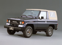 Фото авто Toyota Land Cruiser J70, ракурс: 45