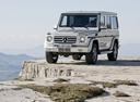 Фото авто Mercedes-Benz G-Класс W463 [3-й рестайлинг], ракурс: 45 цвет: серебряный