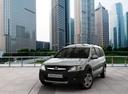 Фото авто ВАЗ (Lada) Largus 1 поколение, ракурс: 45 цвет: серебряный