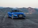 Фото авто Audi RS 4 B9, ракурс: 315 цвет: голубой