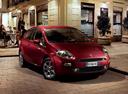Фото авто Fiat Punto 3 поколение [2-й рестайлинг], ракурс: 315 цвет: бордовый