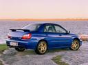 Фото авто Subaru Impreza 2 поколение, ракурс: 225 цвет: синий