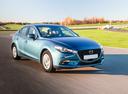 Фото авто Mazda 3 BM [рестайлинг], ракурс: 315 цвет: голубой
