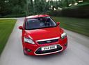 Фото авто Ford Focus 2 поколение [рестайлинг],  цвет: красный