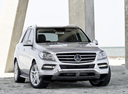 Фото авто Mercedes-Benz M-Класс W166,  цвет: серебряный