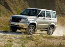 Фото авто УАЗ Patriot 1 поколение, ракурс: 45 цвет: бежевый