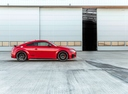 Фото авто Audi TT 8S [рестайлинг], ракурс: 270 цвет: красный