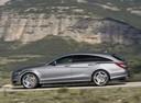 Фото авто Mercedes-Benz CLS-Класс C218/X218, ракурс: 90 цвет: серебряный