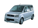 Фото авто Mitsubishi eK H81W, ракурс: 45 цвет: серебряный