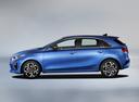 Фото авто Kia Cee'd 3 поколение, ракурс: 90 - рендер цвет: синий
