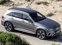 Фото авто Mercedes-Benz GLC-Класс X253/C253 [рестайлинг], ракурс: 315 цвет: серый