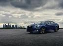 Фото авто Subaru Legacy 6 поколение [рестайлинг], ракурс: 45 цвет: синий
