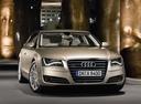 Фото авто Audi A8 D4/4H, ракурс: 315 цвет: сафари