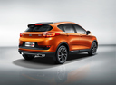 Фото авто Geely GS 1 поколение, ракурс: 225 цвет: оранжевый