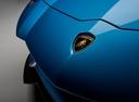 Фото авто Lamborghini Aventador 1 поколение [рестайлинг], ракурс: шильдик цвет: синий