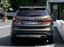 Фото авто Hyundai Santa Fe DM, ракурс: 180 цвет: коричневый