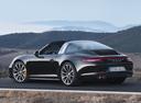 Фото авто Porsche 911 991, ракурс: 135 цвет: черный