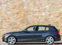 Фото авто BMW 1 серия F20/F21 [рестайлинг], ракурс: 90 цвет: серый