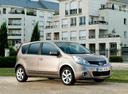 Фото авто Nissan Note E11 [рестайлинг], ракурс: 315 цвет: коричневый