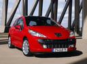 Фото авто Peugeot 207 1 поколение, ракурс: 315 цвет: красный