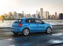 Фото авто Volkswagen Polo 5 поколение [рестайлинг], ракурс: 225 цвет: синий