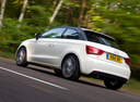 Фото авто Audi A1 8X, ракурс: 135 цвет: белый