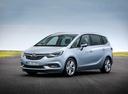 Фото авто Opel Zafira C [рестайлинг], ракурс: 45 цвет: серебряный