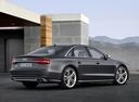 Фото авто Audi S8 D4 [рестайлинг], ракурс: 225 цвет: серый