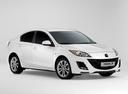 Фото авто Mazda 3 BL, ракурс: 315 - рендер цвет: белый
