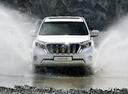 Фото авто Toyota Land Cruiser Prado J150 [рестайлинг],  цвет: белый