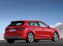 Фото авто Audi A3 8V, ракурс: 225 цвет: красный