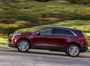 Фото авто Cadillac XT5 1 поколение, ракурс: 90 цвет: красный