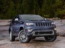 Фото авто Jeep Grand Cherokee WK2 [рестайлинг], ракурс: 315 цвет: синий