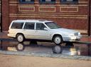 Фото авто Volvo V90 1 поколение, ракурс: 315 цвет: серебряный