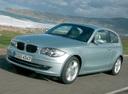 Фото авто BMW 1 серия E81/E82/E87/E88 [рестайлинг], ракурс: 45 цвет: серебряный