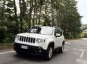 Фото авто Jeep Renegade 1 поколение, ракурс: 45 цвет: серебряный