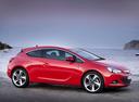 Фото авто Opel Astra J [рестайлинг], ракурс: 270 цвет: красный
