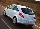 Фото авто Opel Corsa D, ракурс: 135 цвет: белый