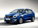 Фото авто Kia Rio 3 поколение [рестайлинг], ракурс: 45 цвет: синий