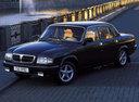 Фото авто ГАЗ 3110 Волга 1 поколение, ракурс: 45 цвет: черный